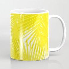 Palms Yellow Coffee Mug
