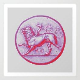 Peloponnesian Coin No. 2 Art Print