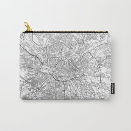 Manchester Map Line Carry-All Pouch
