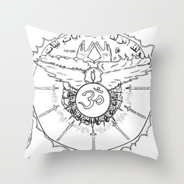 Come Holy Ghost Throw Pillow