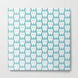 Happy teeth Metal Print