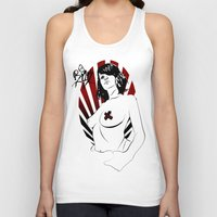 girl power Tank Tops featuring Girl Power by Sirenphotos