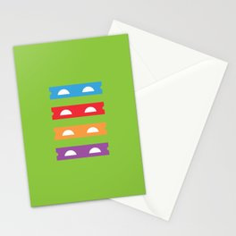 Teenage Minimal Ninja Turtles Stationery Cards