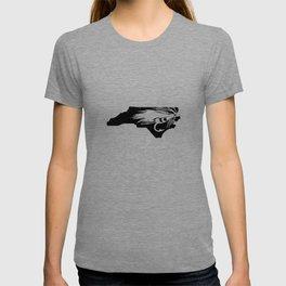 North Carolina Fly Fishing Hook River T-shirt