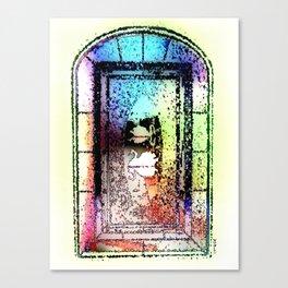 Window, Encinitas, California #2 Canvas Print