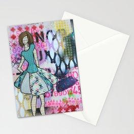 Sassy Twirl Stationery Cards