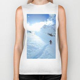 Mountain photography / Mountain & Snow Poster Biker Tank