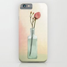 Flowers in Glass Slim Case iPhone 6s