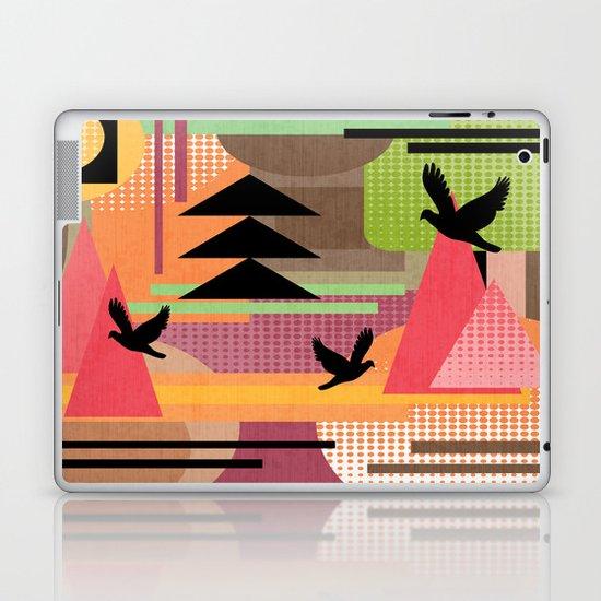 3 Flew Over. Laptop & iPad Skin