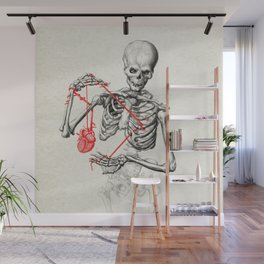 I need a heart to feel complete Wall Mural