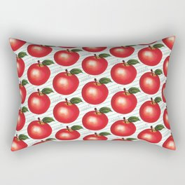 Apple Pattern - Ruled Rectangular Pillow