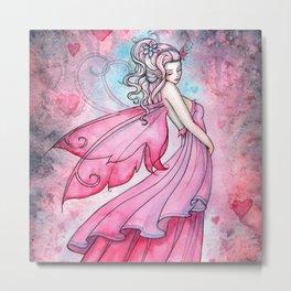 Fairy of Love by Molly Harrison Fantasy Art Metal Print