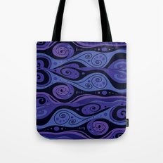 Surreal Waves Tote Bag