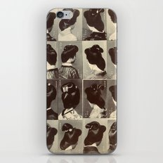 TRADITIONAL JAPANESE HAIRSTYLES iPhone & iPod Skin