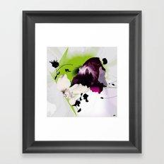 Fluctuating Framed Art Print