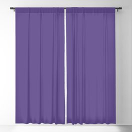 Ultra Violet Purple - Color of the Year 2018 Blackout Curtain
