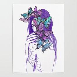 Amongst Butterflies Poster