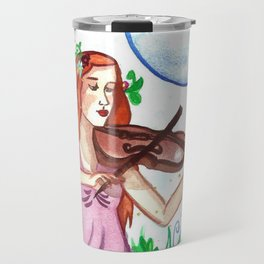 Fiddler and the Moon Travel Mug