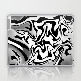 Black and white By Leslie Harlow Laptop & iPad Skin