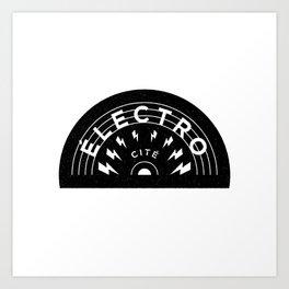 Électro-Cité 2 Art Print