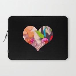 Deco Heart remix Laptop Sleeve