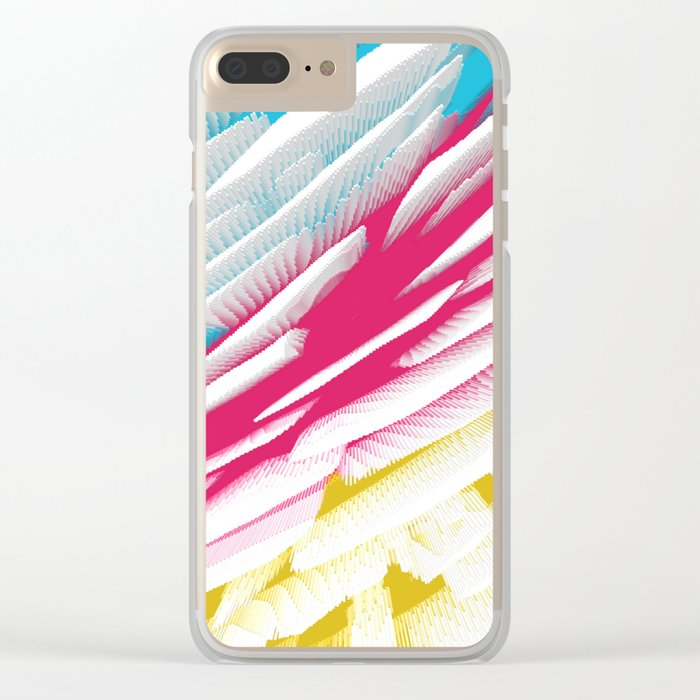 Abstract 218 Clear iPhone Case