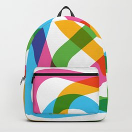 Colorful Swirl Backpack