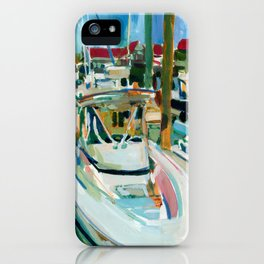 Pleasure Craft, Cape May, New Jersey iPhone Case