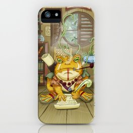 Kepler the Scribe iPhone Case