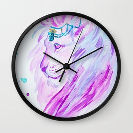 Candy lion Wall Clock