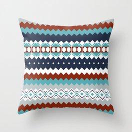 Navajo Pattern Throw Pillow