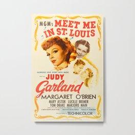 Vintage poster - Meet Me in St. Louis Metal Print