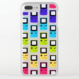 Rainbow Nostalgia Clear iPhone Case