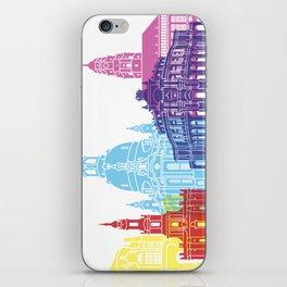 Dresden skyline pop iPhone Skin