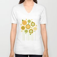 sunshine V-neck T-shirts featuring Sunshine by Shelly Bremmer