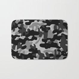 Camouflage (Gray) Bath Mat