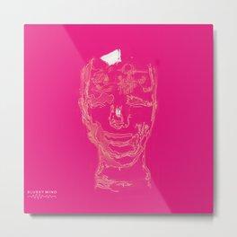 blurry mind Metal Print