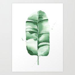 Banana Leaf no.8 Art Print