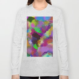 Expression Of Colour - Abstract, modern painting Long Sleeve T-shirt
