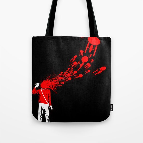 Trekkies in the Attic Tote Bag
