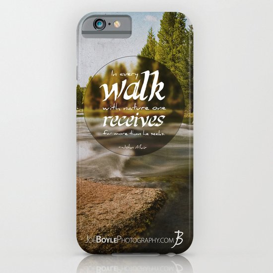 Rocks In The Stream iPhone & iPod Case