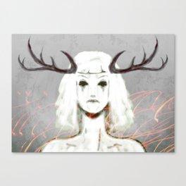 Forest Sprite Canvas Print