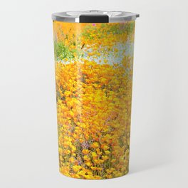 Superbloom of California Poppies by Reay of Light Travel Mug