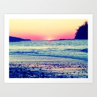 the cure Art Prints featuring Cure All  by Endless Summer
