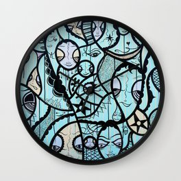 Twisted Tale Wall Clock