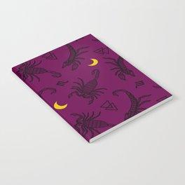 Scorpio Moon - Twilight Notebook