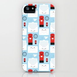 Happy Mail - Kawaii Post iPhone Case
