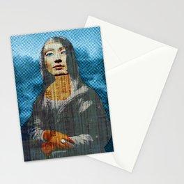 Nona Lifretéte in blue Stationery Cards