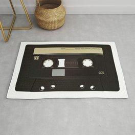 Retro audio cassette. Music Rug