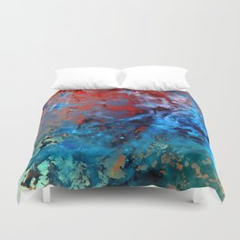 α Comae Berenices Duvet Cover